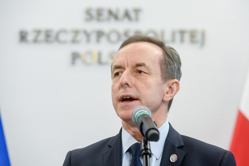 Marszałek Senatu Tomasz Grodzki /Jacek Domiński /Reporter