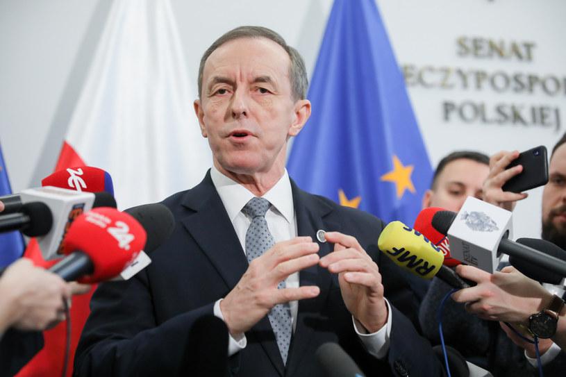 Marszałek Senatu Tomasz Grodzki /Andrzej Iwańczuk /Reporter