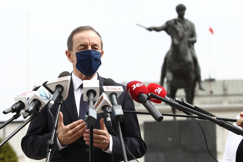 Marszałek Senatu Tomasz Grodzki /Tomasz Jastrzębowski /Reporter
