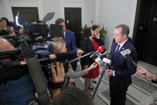 Marszałek Senatu Tomasz Grodzki / Tomasz Gzell    /PAP