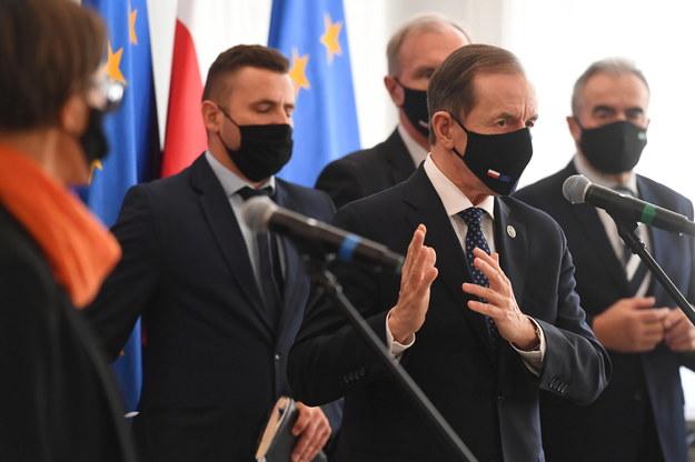 Marszałek Senatu Tomasz Grodzki /Piotr Nowak /PAP