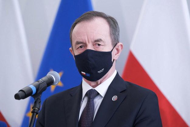 Marszałek Senatu Tomasz Grodzki /Mateusz Marek /PAP