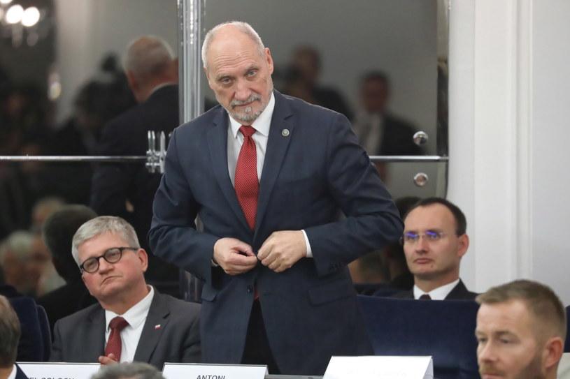 Marszałek senior Sejmu Antoni Macierewicz / Tomasz Gzell    /PAP