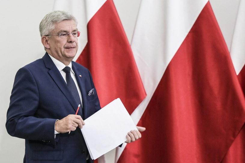 Marszałek Stanisław Karczewski /Wojciech Olkuśnik /PAP