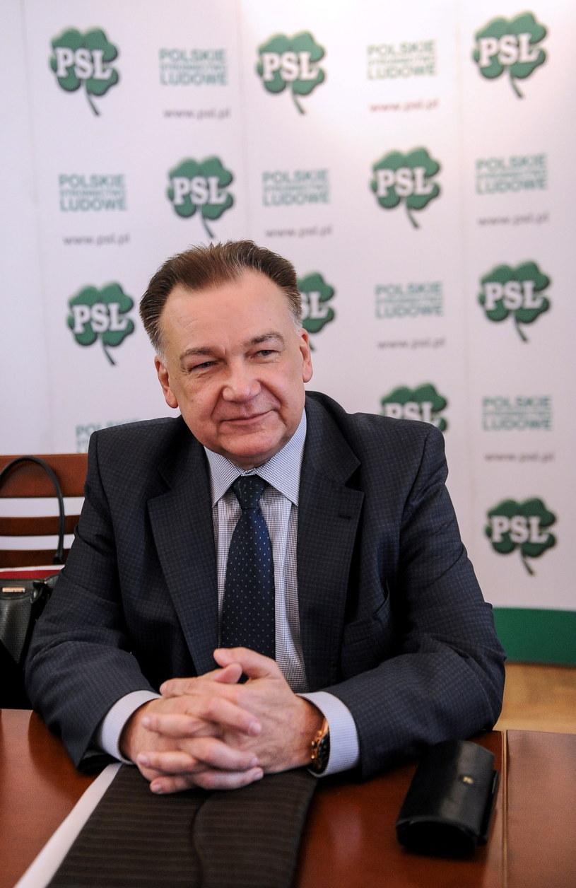 Marszałek województwa mazowieckiego Adam Struzik /Marcin Obara /PAP