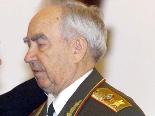Marszałek Związku Sowieckiego Wiktor Kulikow. Zdjęcie z 2000 roku /ALEXANDER ZEMLIANICHENKO / POOL /AFP