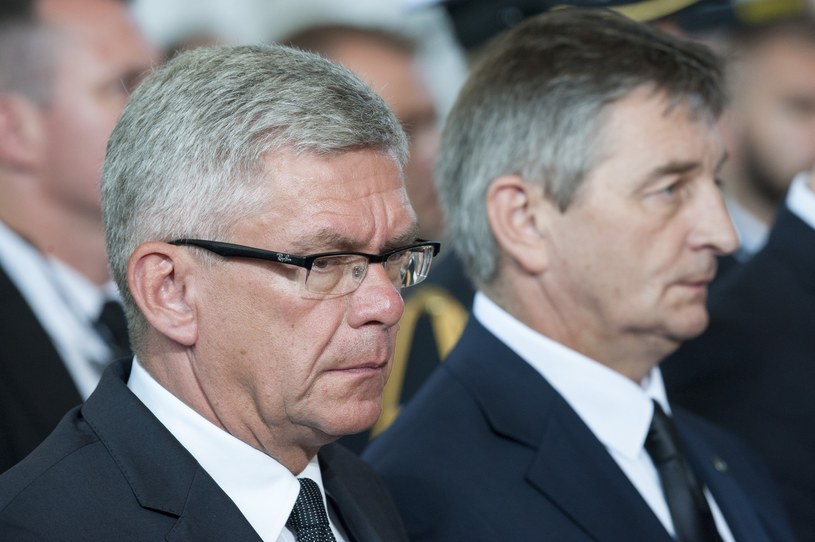 Marszałkowie Sejmu i Senatu /Wojciech Stróżyk /Reporter