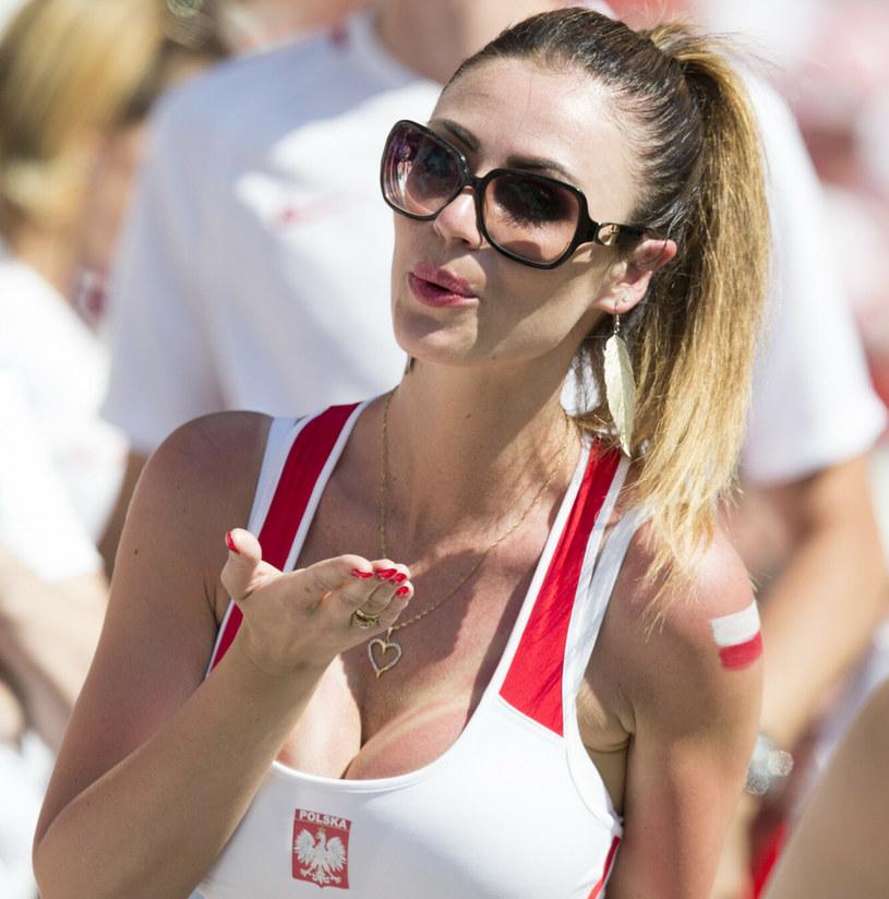 Marta Barczok była ulubienicą fotoreporterów podczas Euro 2016 /Andrzej Iwańczuk /Reporter