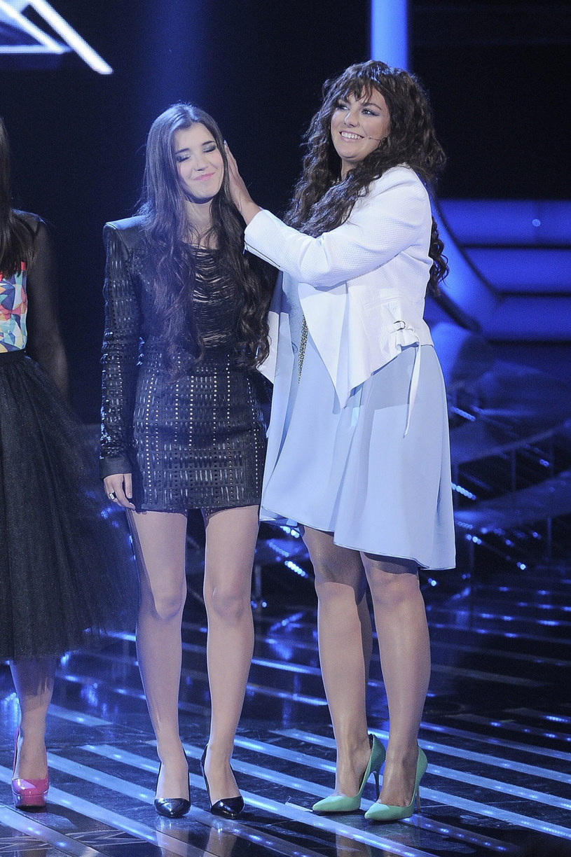 """Marta Bijan w programie """"X Factor"""" była podopieczną Ewy Farnej /Tricolors /East News"""