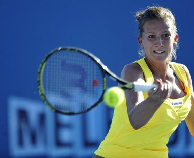 Marta Domachowska awansowała o 47 pozycji w rankingu WTA /AFP