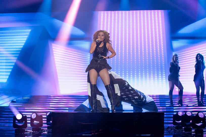 Marta Gałuszewska jako Beyonce /M. Zawada /Polsat