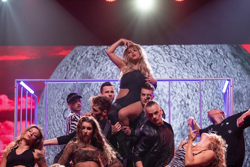 Marta Gałuszewska jako Shakira /M. Zawada /Polsat