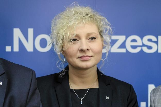 Marta Golbik, Nowoczesna. Fot. Patryk Ogorzałek /AGENCJA GAZETA