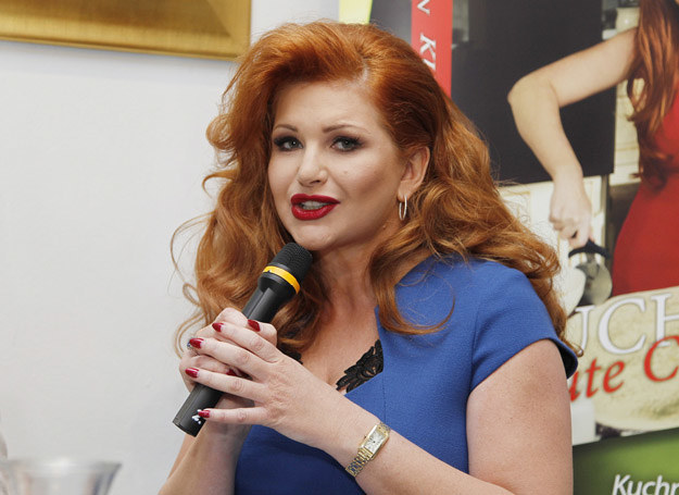 Marta Grycan na promocji swojej książki /Ida Podsiebierka /AKPA