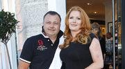 Marta Grycan z mężem Adamem
