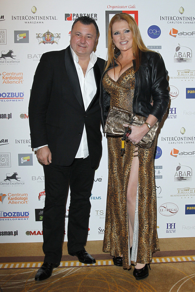 Marta Grycan z mężem Adamem /Engelbrecht /AKPA