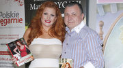 Marta Grycan z mężem