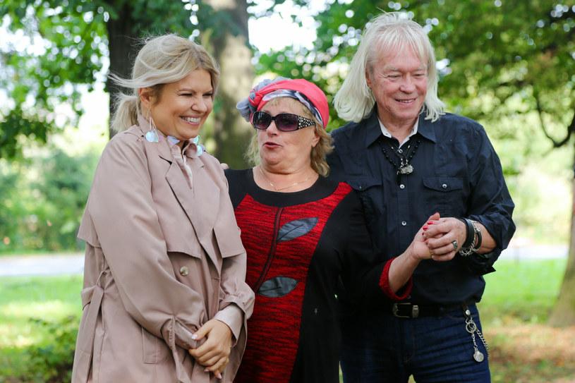 """Marta, Halina i Zdzisław z """"Sanatorium miłości"""" /Weronika Marczyk-Kielbasa /East News"""