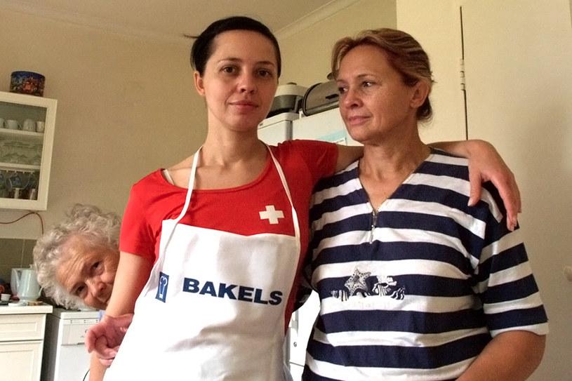 Marta Handschke z mamą Gabrysią i babcią Kazią /archiwum prywatne
