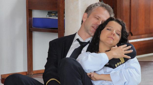 """Marta i Janusz w """"Na Wspólnej"""" /Agencja W. Impact"""