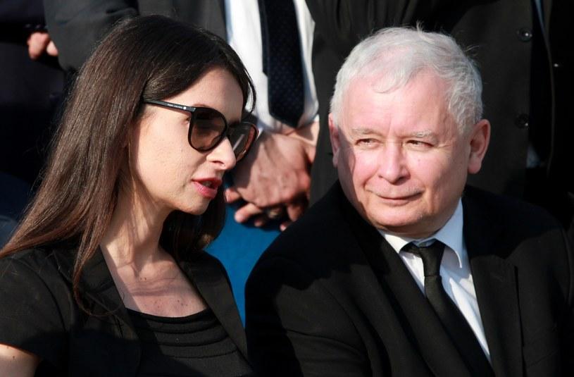 Marta i Jarosław Kaczyńscy /Marek Maszewski  /Reporter