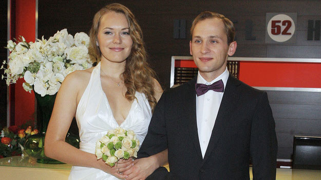 Marta i Kuba staną w końcu na ślubnym kobiercu /Krzemiński /AKPA