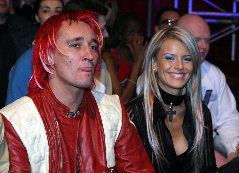 Marta i Michał Wiśniewscy, rok 2004 /Piotr Fotek/REPORTER /East News
