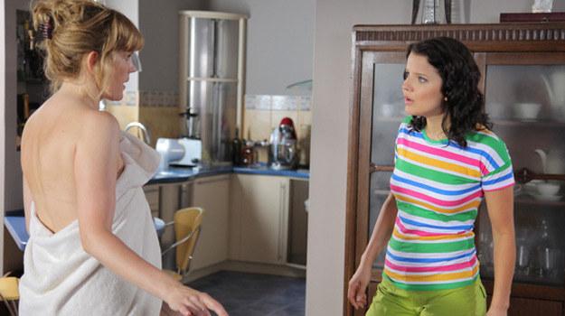 Marta i Sylwia nie pałają do siebie sympatią /Agencja W. Impact