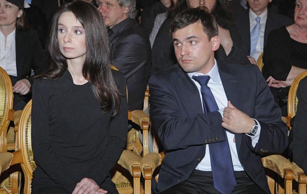 Marta Kaczyńska i Marcin Dubieniecki, fot.Baranowski  /AKPA