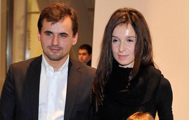 Marta Kaczyńska i Marcin Dubieniecki, fot. Kurnikowski  /AKPA