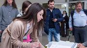 Marta Kaczyńska i Marcin Dubieniecki spotkali się na zawodach córki. Ich reakcja? Wymowna