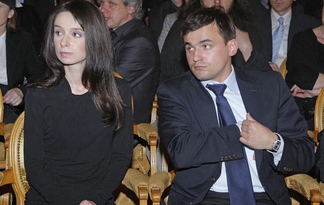 Marta Kaczyńska i Marcin Dubieniecki /Baranowski /AKPA