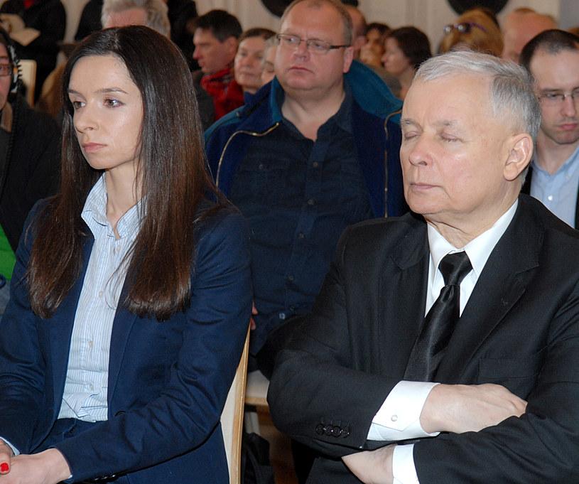 Marta Kaczyńska, Jarosław Kaczyński /Marek Ulatowski /MWMedia