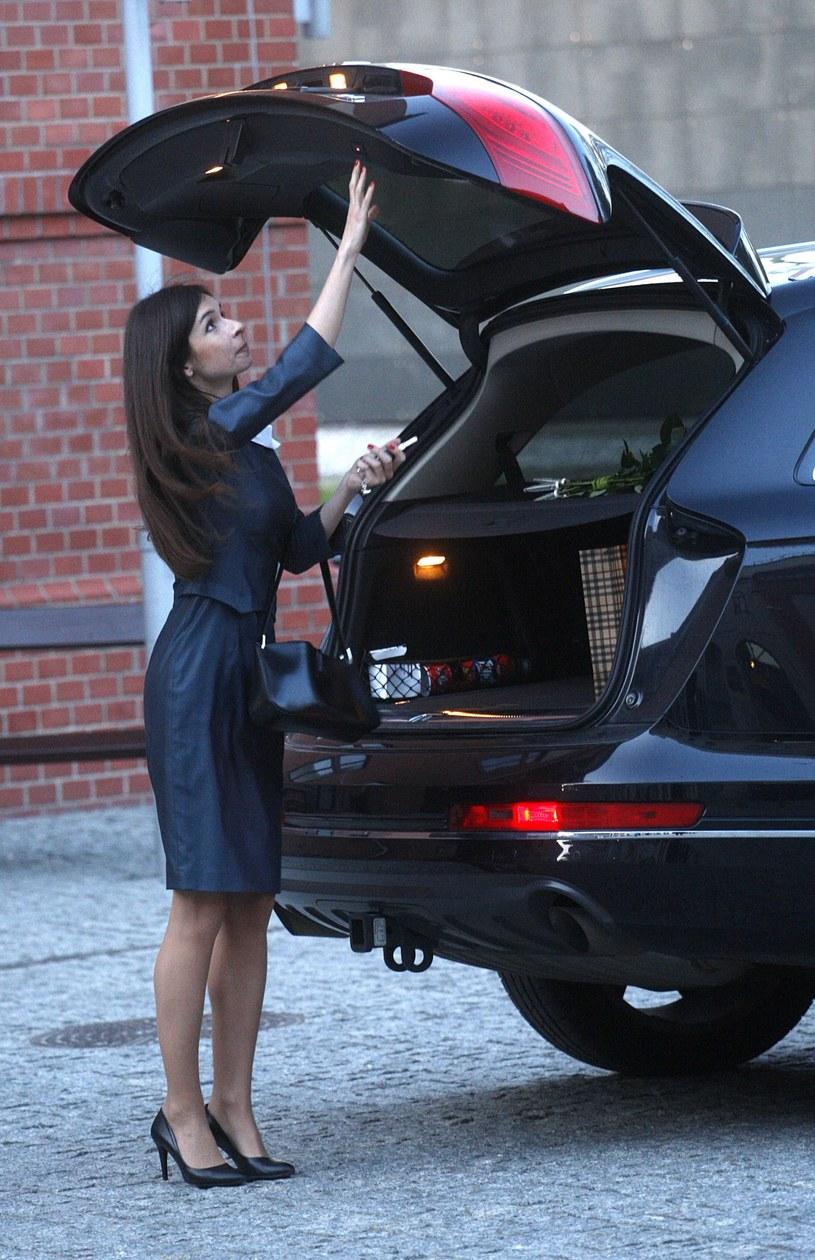 Marta Kaczyńska odzyskała samochód /Adam Guz /Reporter
