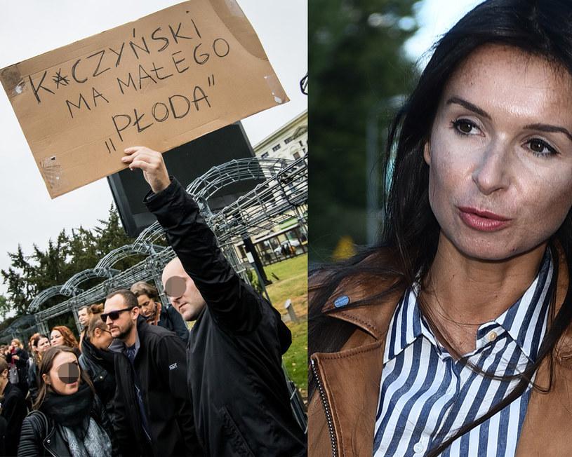 """Marta Kaczyńska skomentowała """"czarny prostest"""" /MWMedia /East News"""