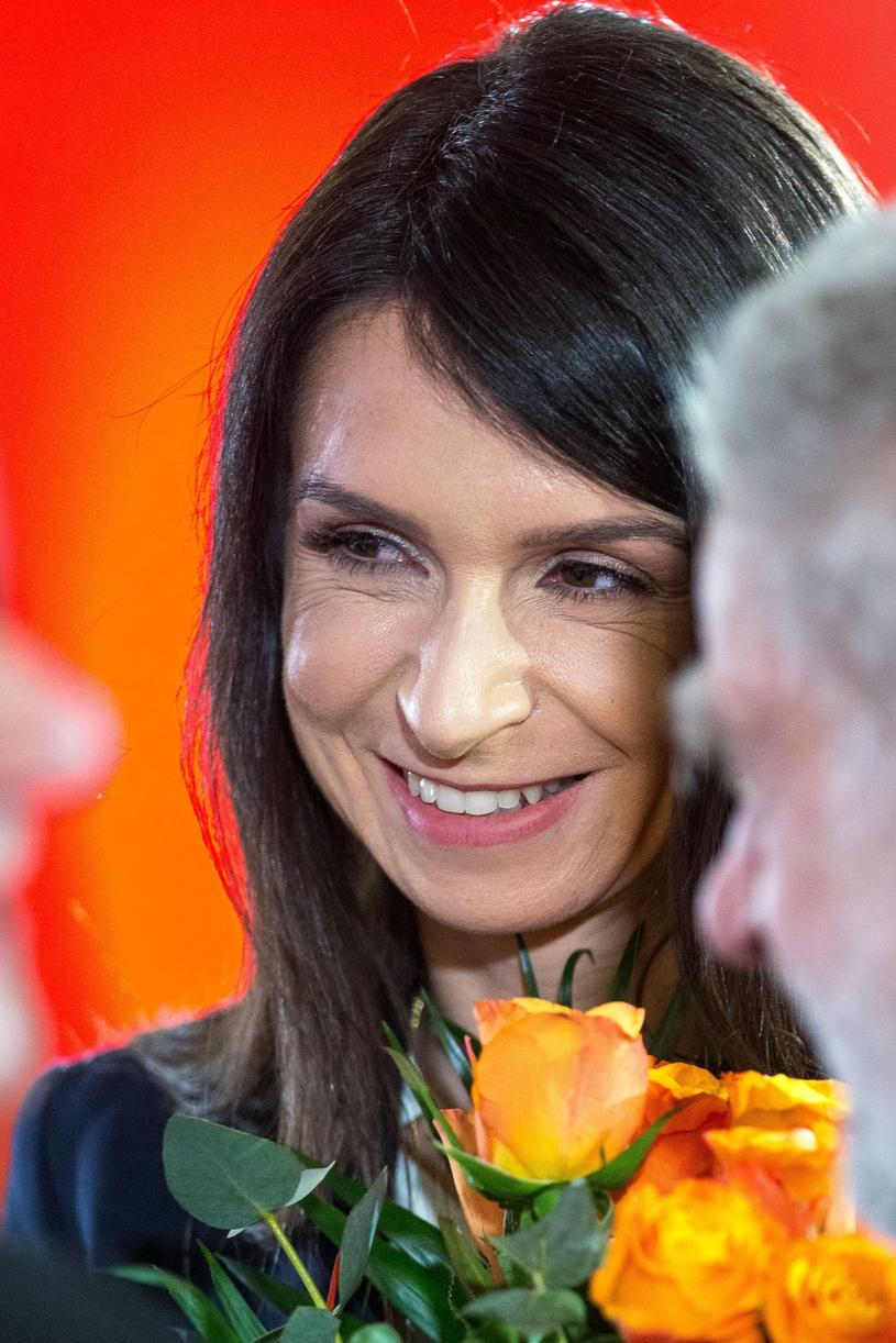 Marta Kaczyńska spodziewa się kolejnego dziecka /Andrzej Iwańczuk /Reporter
