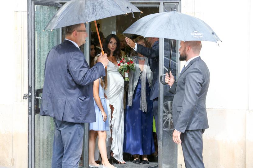 Marta Kaczyńska w dniu ślubu /Newspix