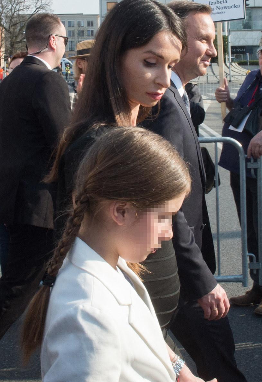 Marta Kaczyńska z córką /Jacek Domiński /Reporter