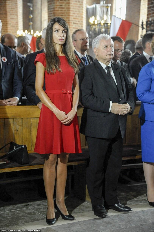 Marta Kaczyńska z Jarosławem Kaczyńskim /Wojciech Stróżyk /Reporter