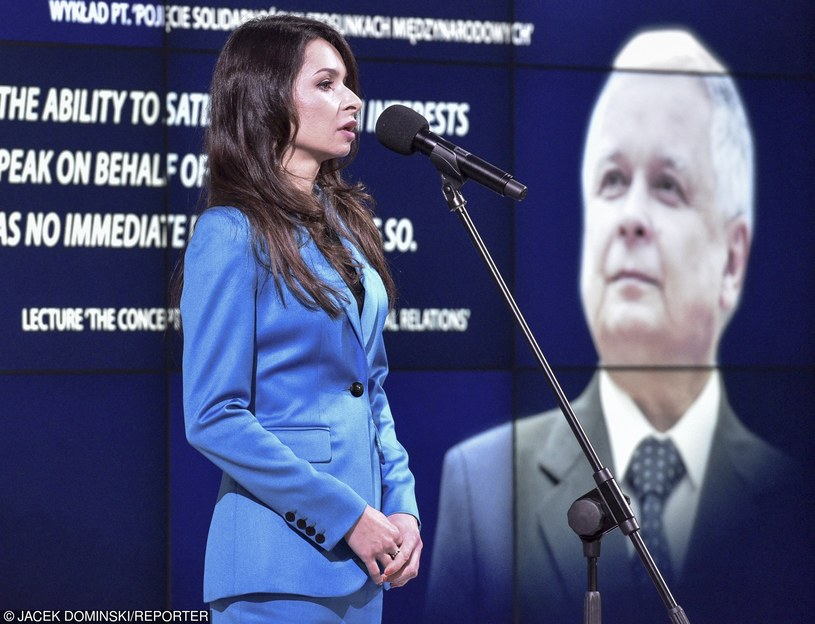 Marta Kaczyńska /Reporter