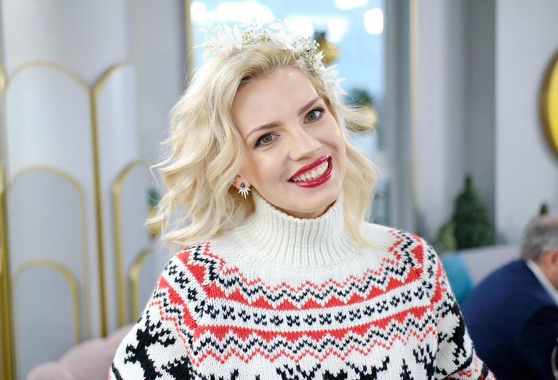 Marta Lech-Maciejewska od dawna lansuje modę na styl Fair Isle /Bartosz Krupa / East News /East News