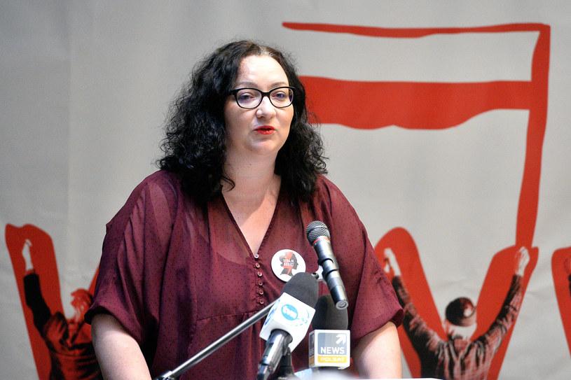 Marta Lempart /Lukasz Dejnarowicz /FORUM