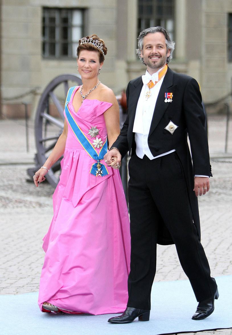 Marta Ludwika i Ari Behn na zdjęciu w 2010 roku. Były mąż księżniczki popełnił samobójstwo 25 grudnia 2019 roku /PPE/Sipa USA /East News