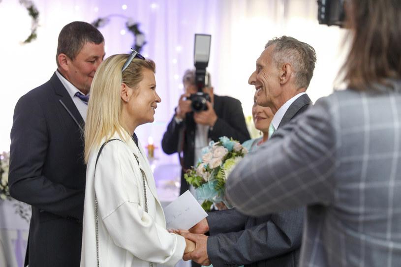 Marta Manowska en la boda de Adam Siewirski / Philip Radunsky / AKPA