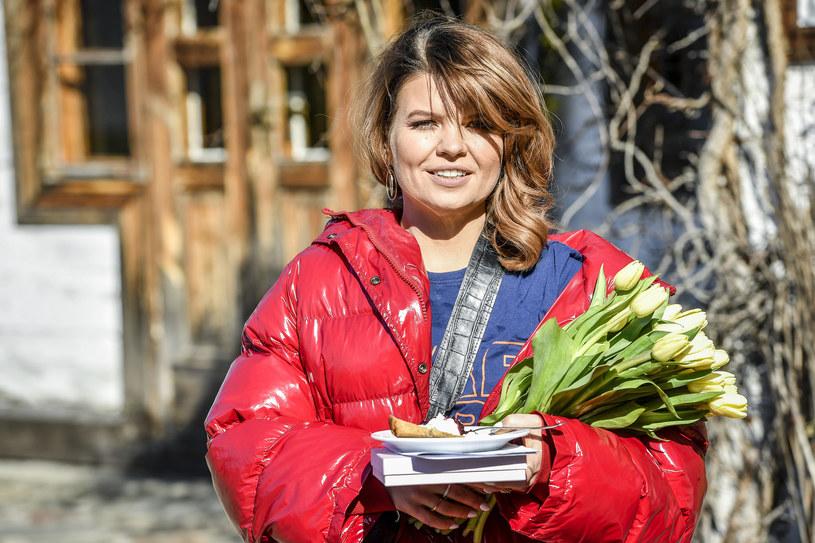 Marta Manowska w poprzedniej fryzurze /AKPA