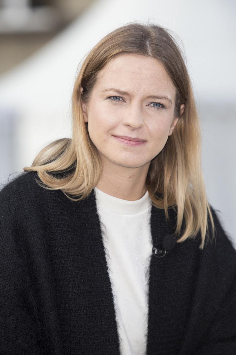 Marta Nieradkiewicz na festiwalu Off Camera w Krakowie (2017) /AKPA