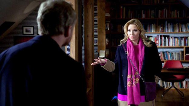 Marta przerwała swój pobyt w Wenecji i zjawiła się w mieszkaniu Rekruta, żeby... zabrać mu syna! /TVN