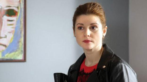 """Marta Ścisłowicz w """"M jak miłość"""" /MTL Maxfilm"""