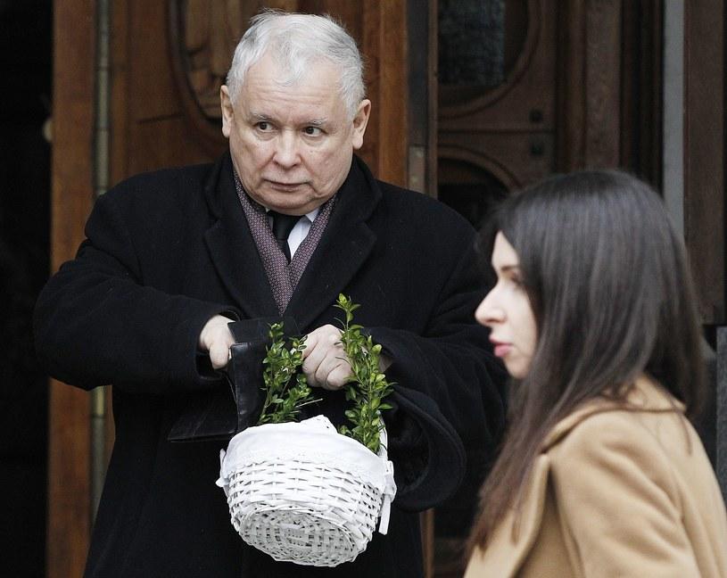 Marta towarzyszyła stryjowi także podczas święcenia pokarmów /East News