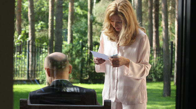 Marta (Urszula Grabowska) boi się o córkę /Polsat